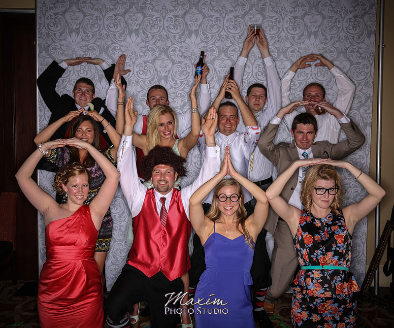 Dayton Reception Photo Booth