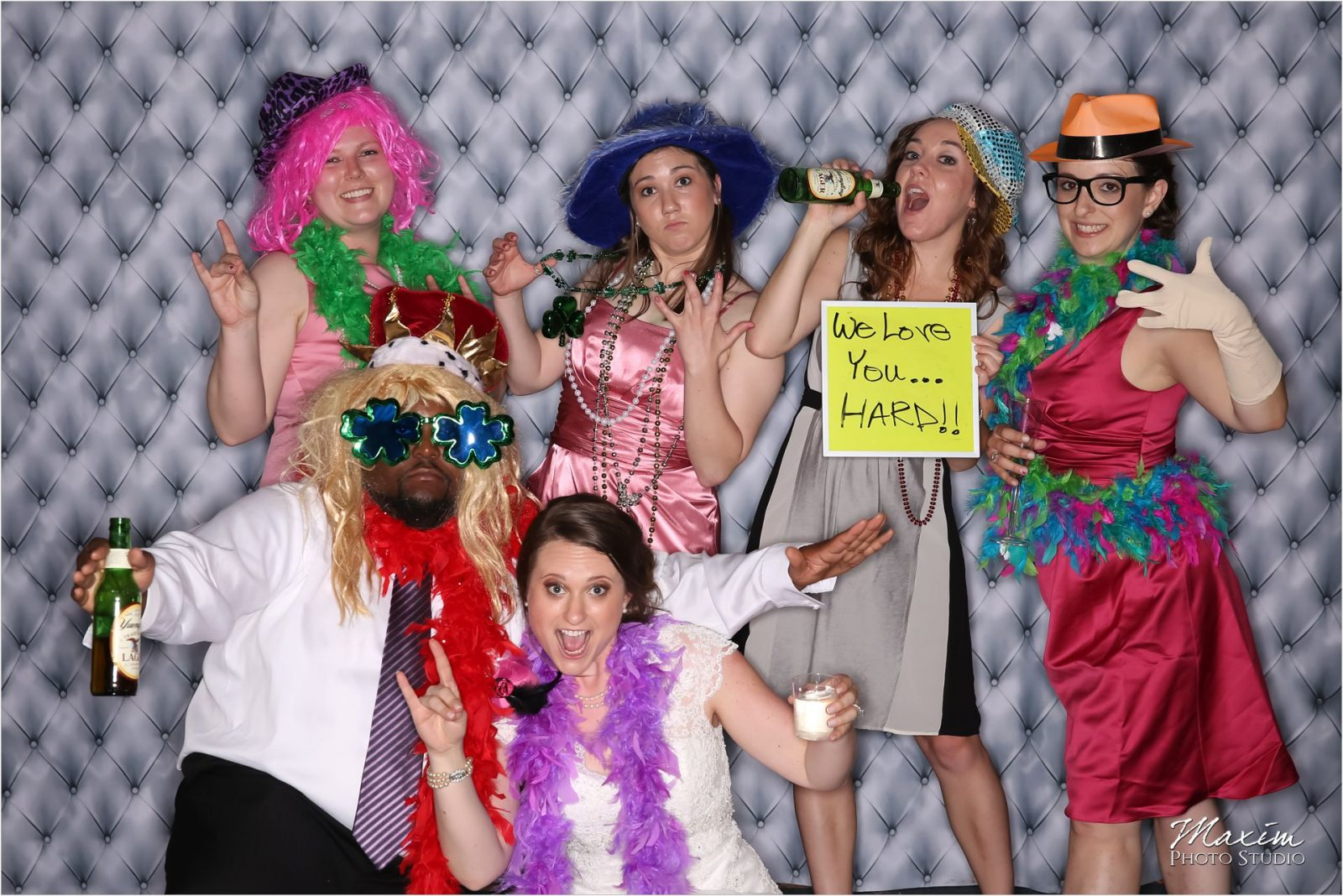 Unboxed Photo Booth Longworth Hall Wedding Reception