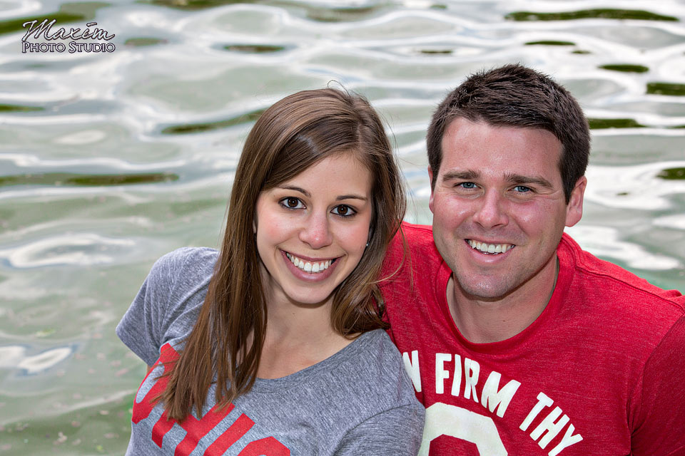 Mirror Lake Ohio State University Engagement