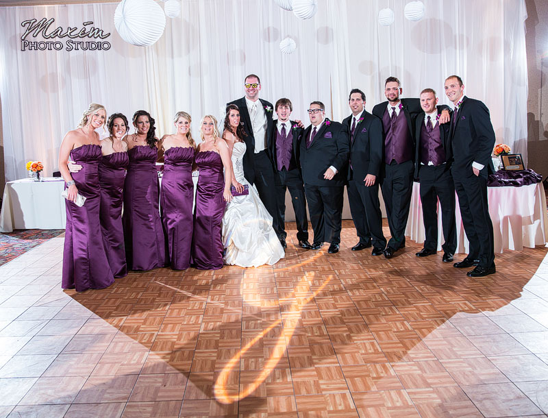 Hilton Garden Inn Beavercreek Ohio Wedding Reception
