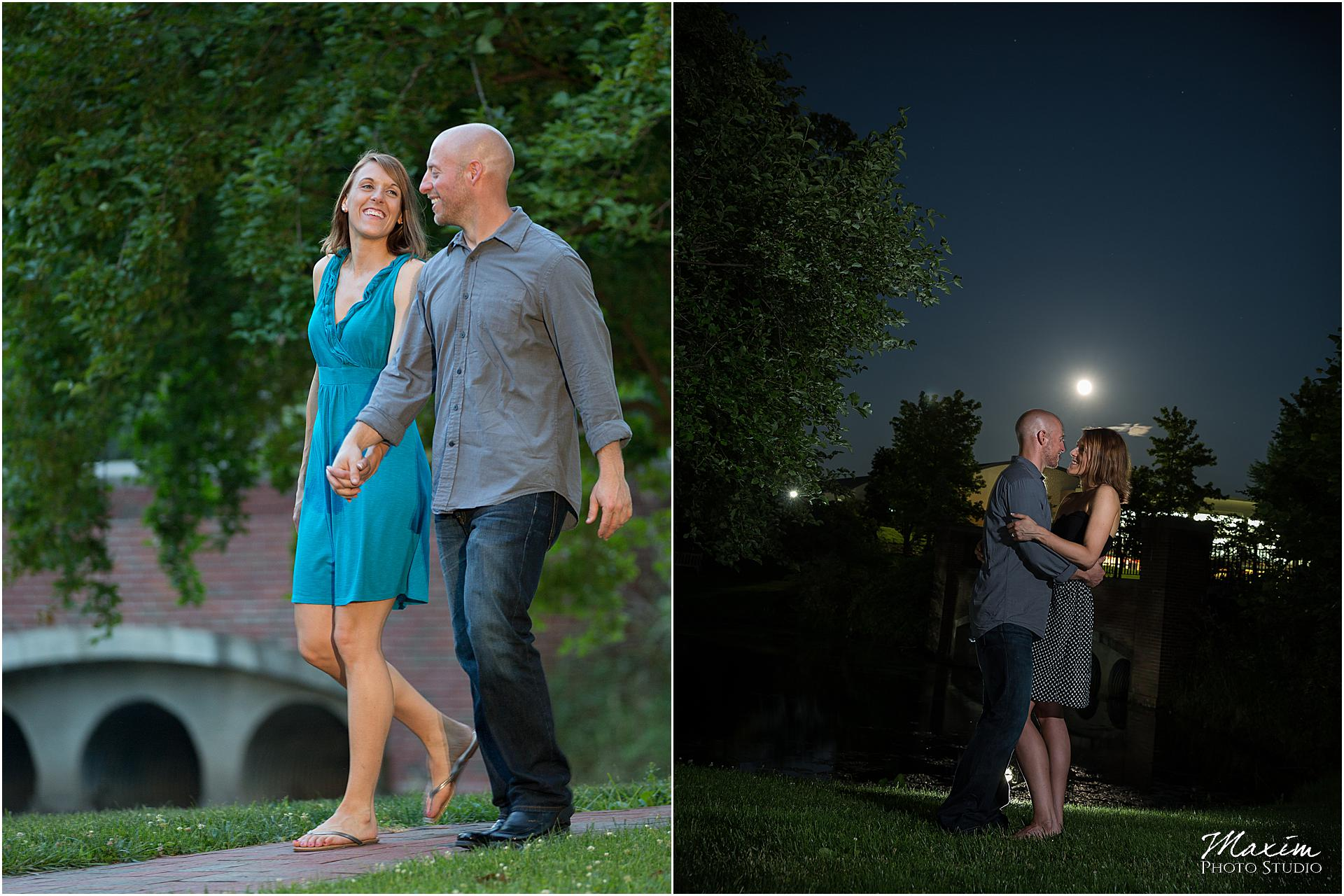 Athens Ohio University Engagement Photo