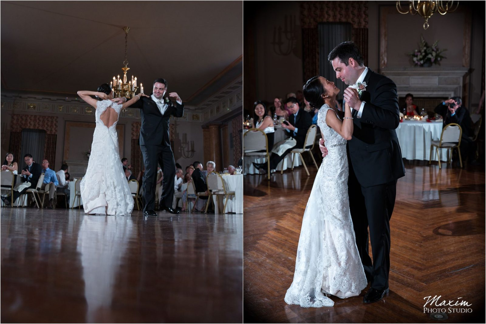 Cincinnati Club Wedding First Dance