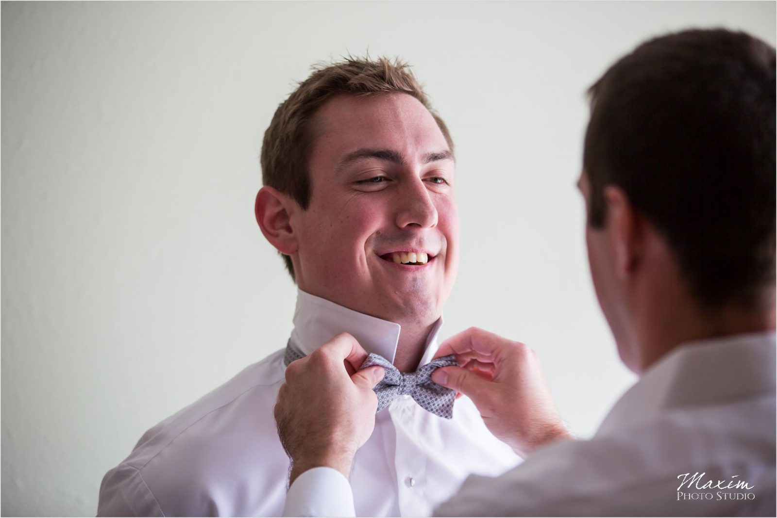 Cincinnati Bell Event Centre Wedding Groom Preparations
