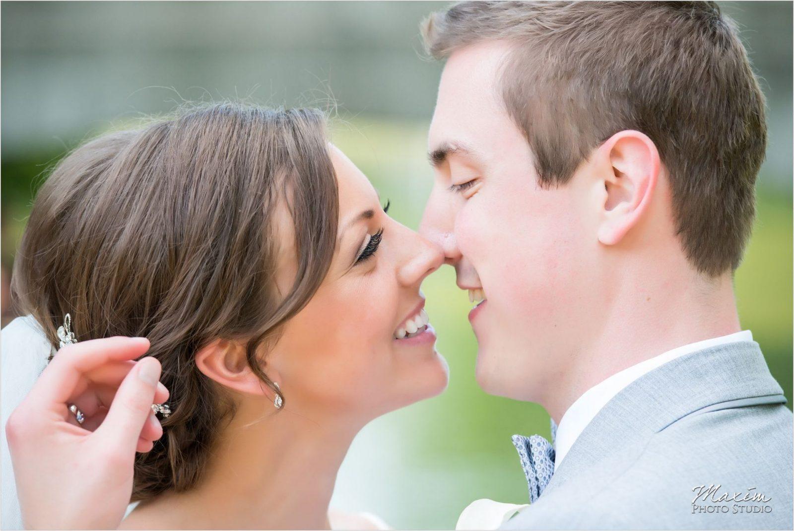 Eden Park Cincinnati Wedding Bride Groom Bridal Party