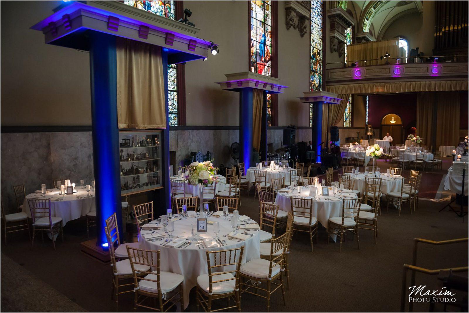 Bell Event Centre Cincinnati Wedding Reception Decor CSC
