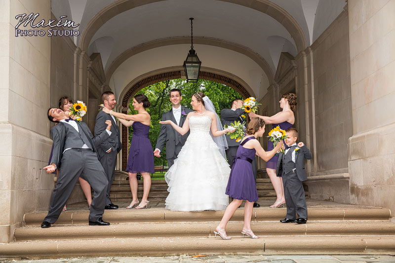 Upham Arch Oxford Ohio Wedding