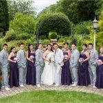 Wegerzyn Gardens Wedding Portraits