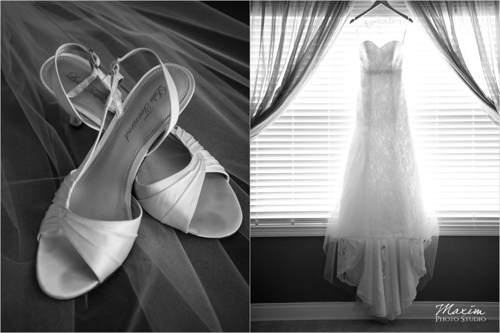Cooper Creed Wedding Dress bride preparations shoes