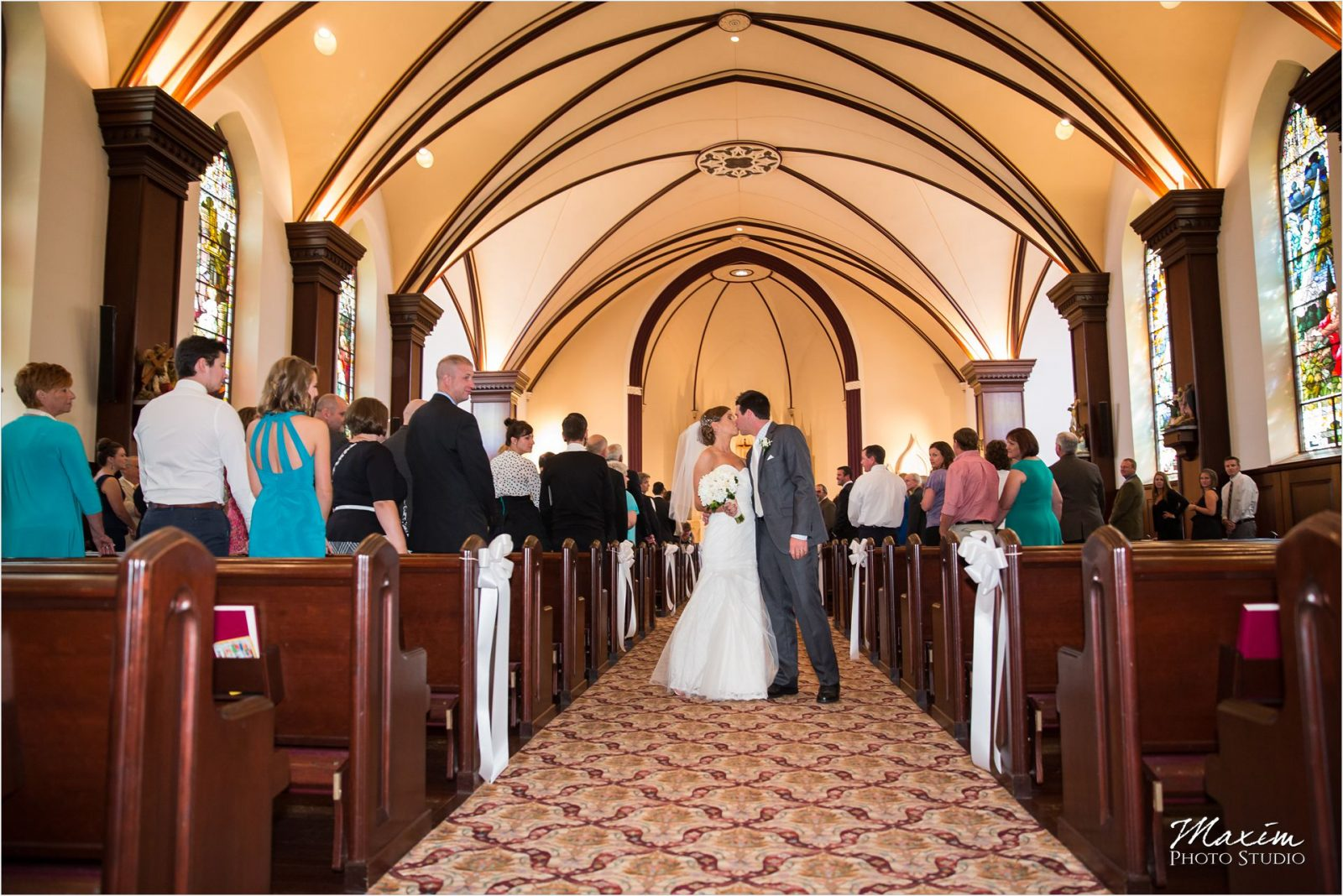 St Julie Billiart Hamilton Ohio Wedding Ceremony