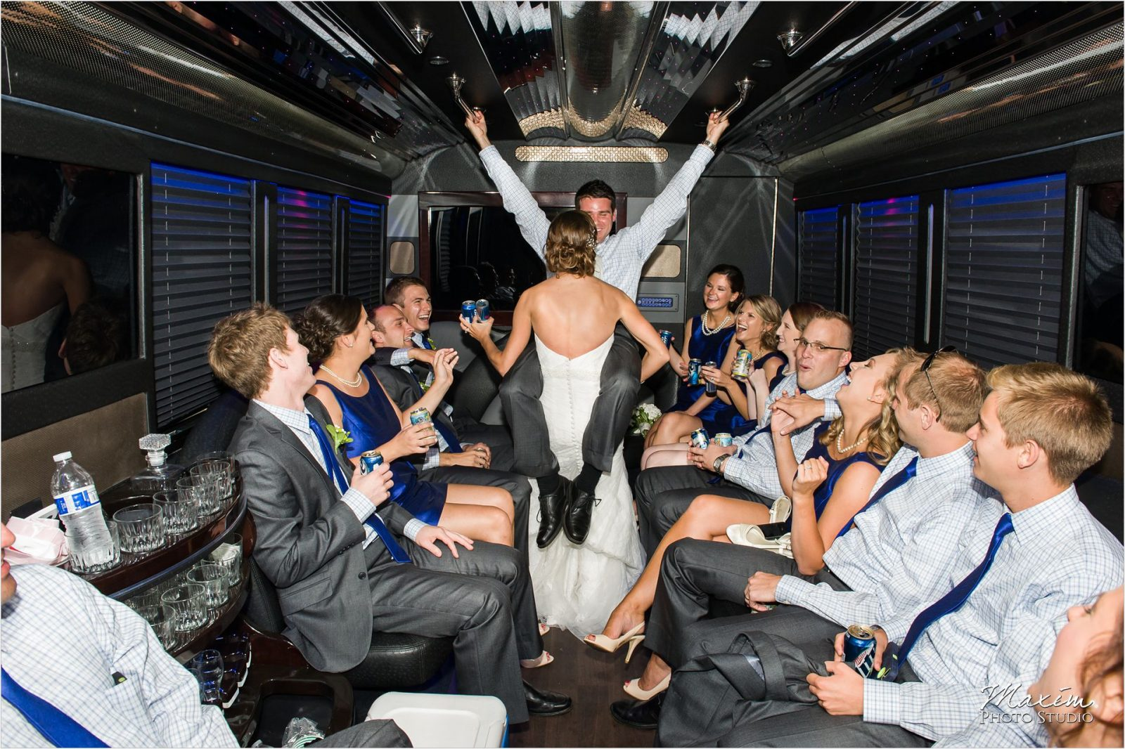Motortoys Limo Cooper Creek Bridal Party Wedding