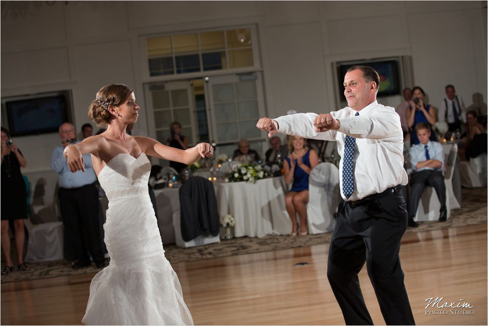 Cooper Creek Event Center Wedding Reception dance
