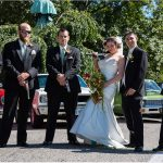 Cincinnati Wedding Photographers Spring Cemetery guns wedding