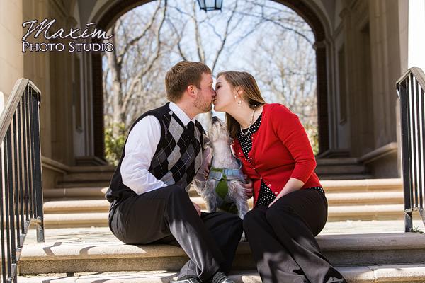 Miami University Wedding Engagement Photography
