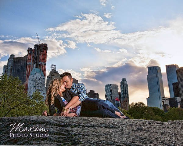 Central Park New York City Engagement