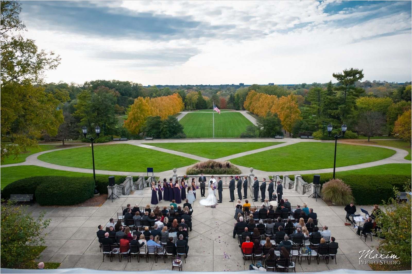 Ault Park Wedding Ceremony Venue