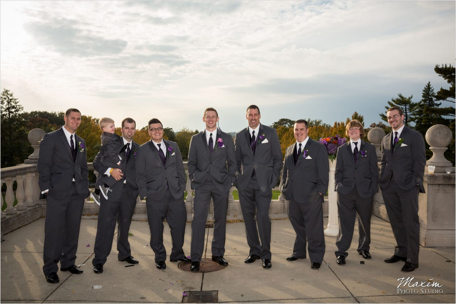 Ault Park Cincinnati Wedding Portraits