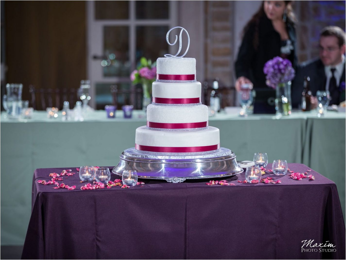 Ault Park Cincinnati Wedding Cake