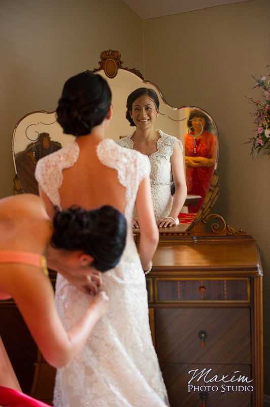 Cincinnati Club Wedding Bride
