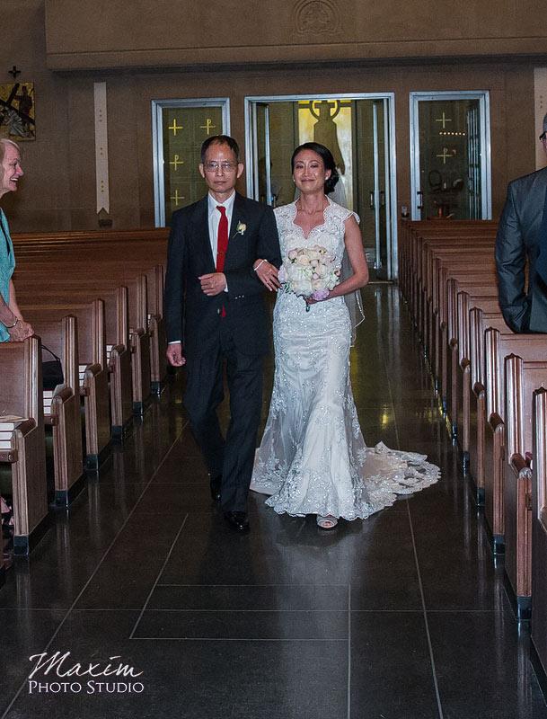 Cincinnati Wedding Ceremony Bridal Entrance