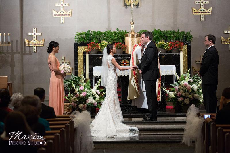 Cincinnati Wedding Church Ceremony