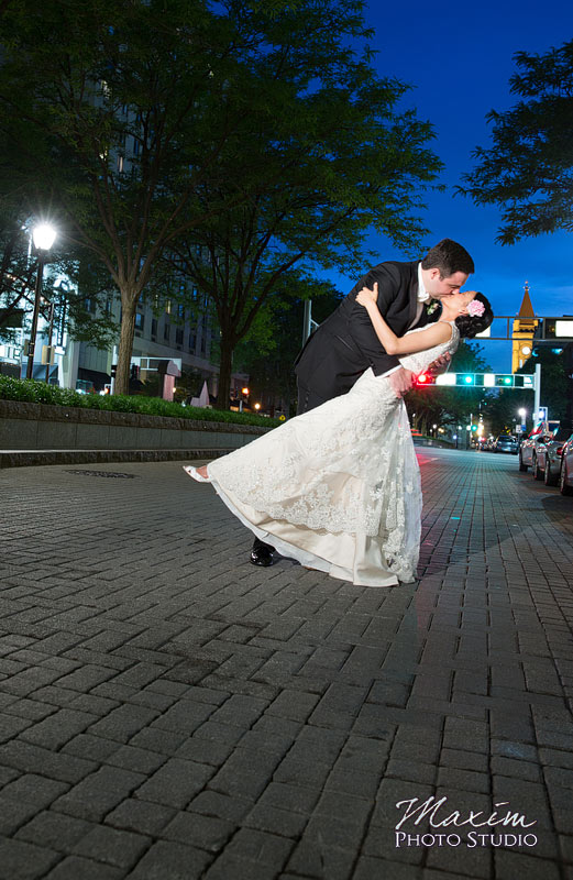 Piatt Park Cincinnati Wedding Reception