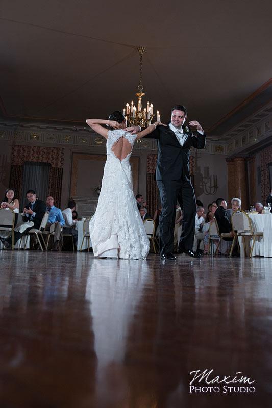Cincinnati Club Wedding Reception First Dance