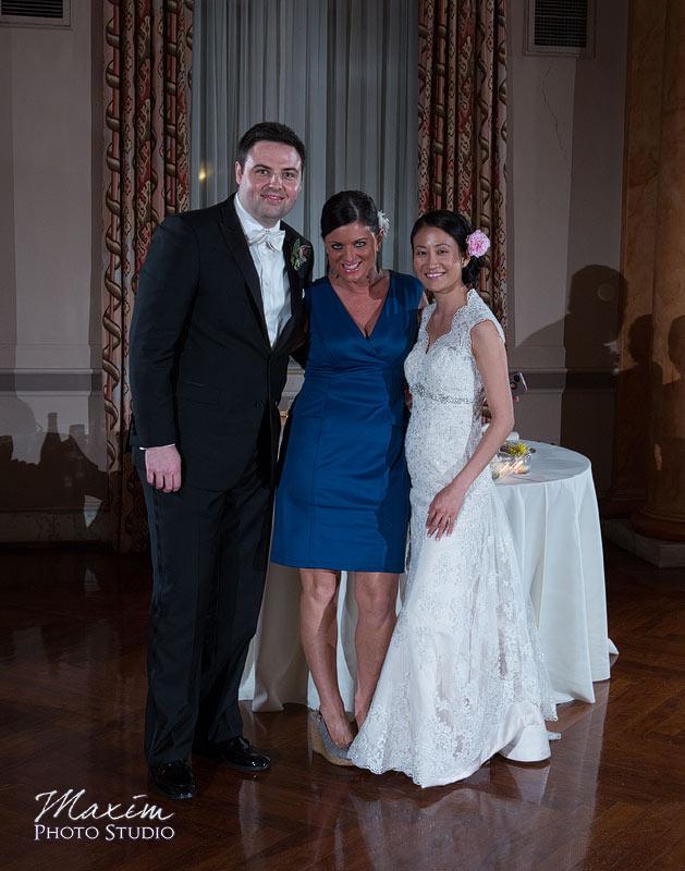 Cincinnati Club Wedding Reception