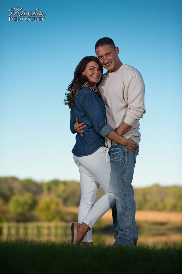 Carriage Hill Dayton Ohio Engagement