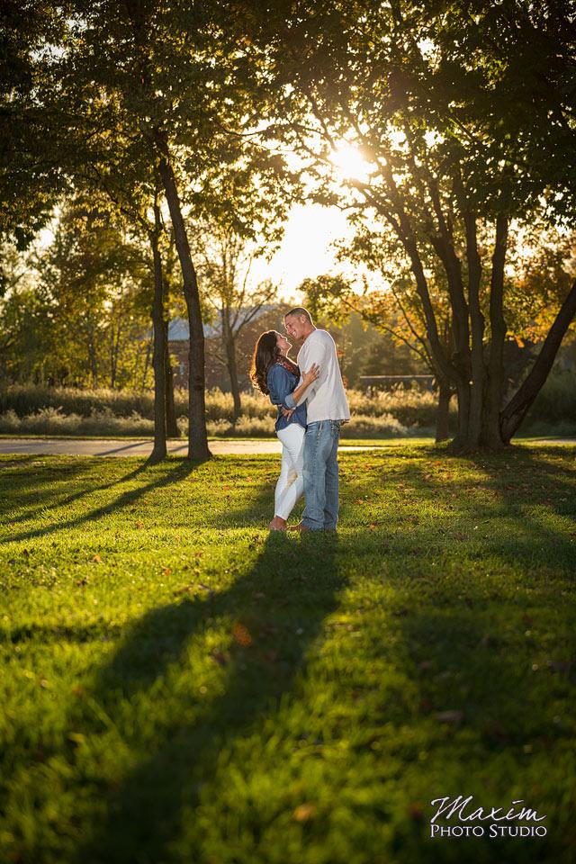 Carriage Hill Dayton Ohio Engagement