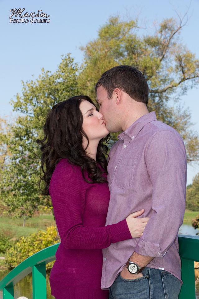 Cox Arboretum Dayton Ohio Engagement Photography
