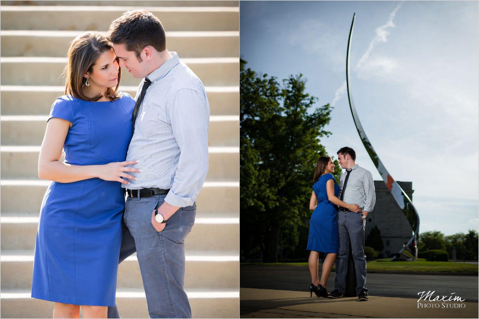 Dayton Art Institute Engagement Photography