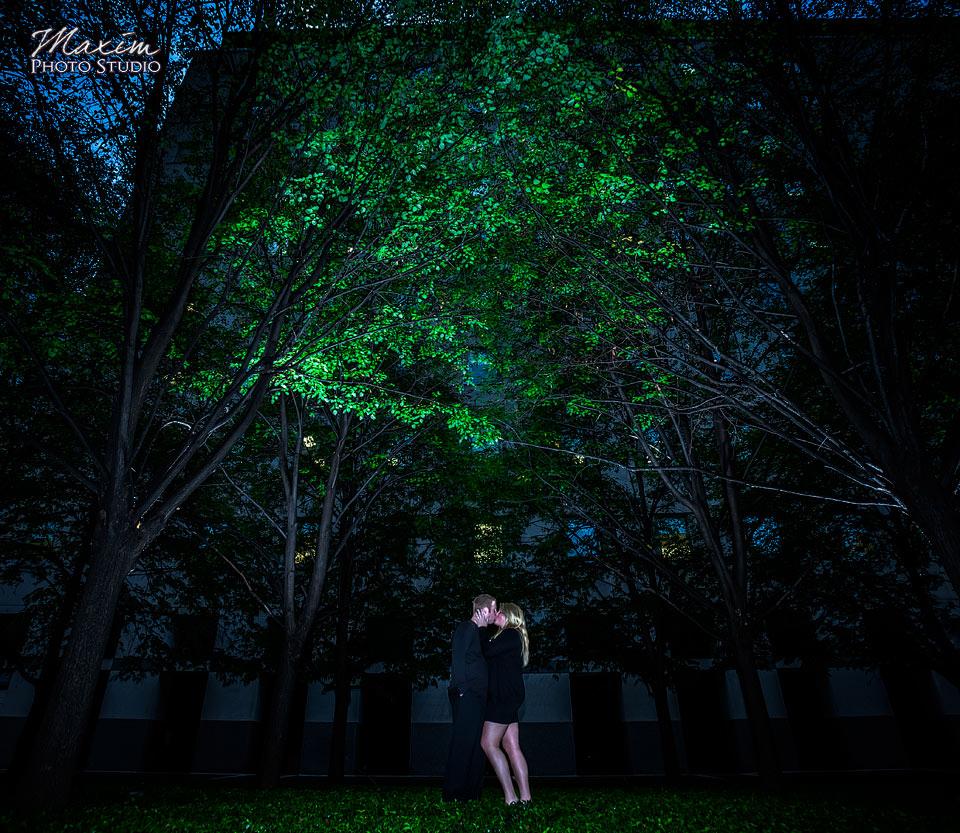 P&G Gardens Cincinnati After Dark Engagement