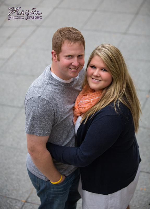 Piatt Park Cincinnati After Dark Engagement