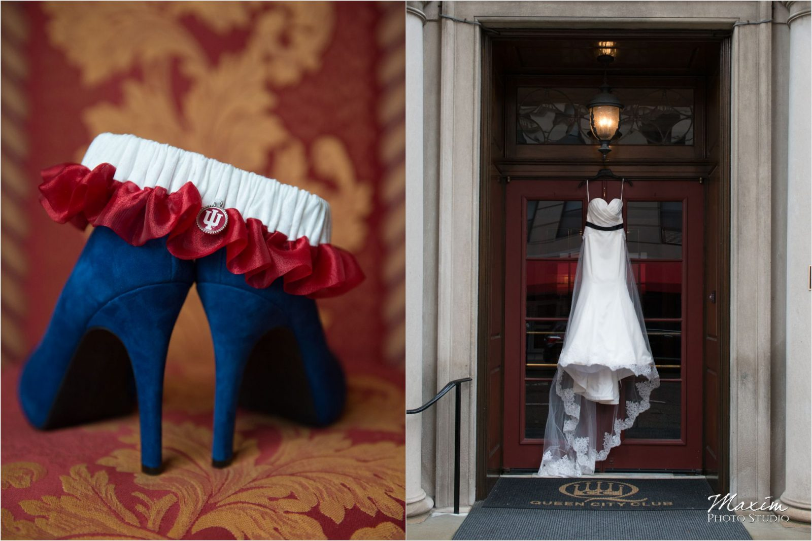 Queen City Cincinnati Wedding shoes dress