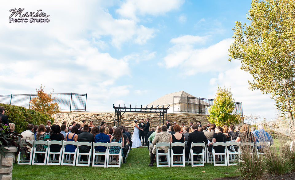 Scioto Reserve Country Club Wedding Ceremony