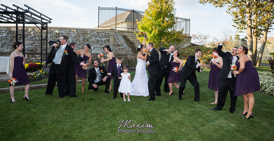 Scioto Reserve Country Club Fun Wedding