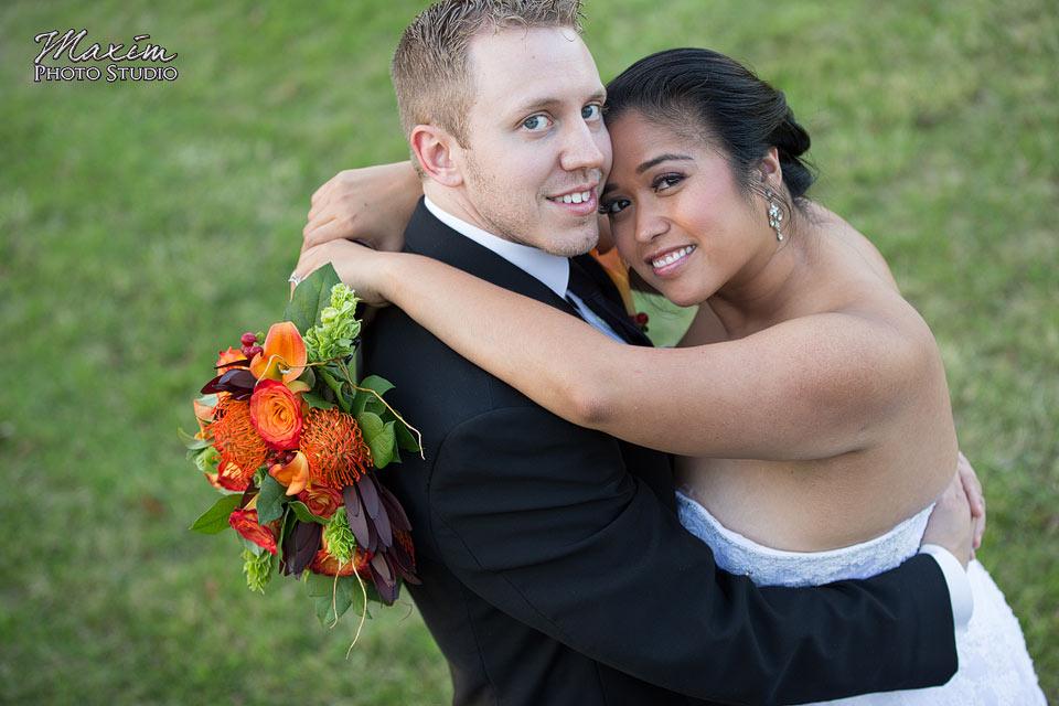 Scioto Reserve Country Club Fall Wedding Reception