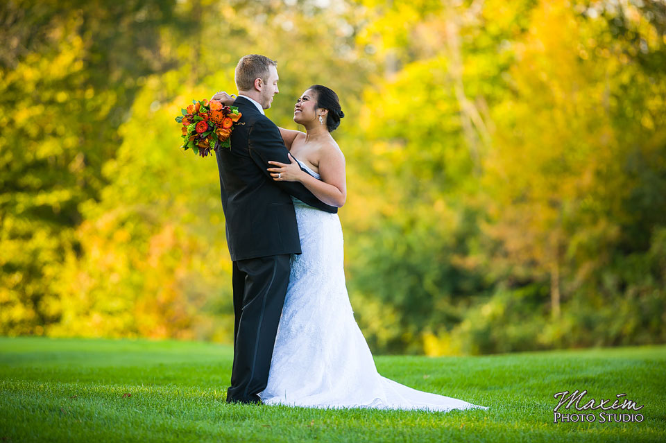 Scioto Reserve Country Club Fall Wedding Reception