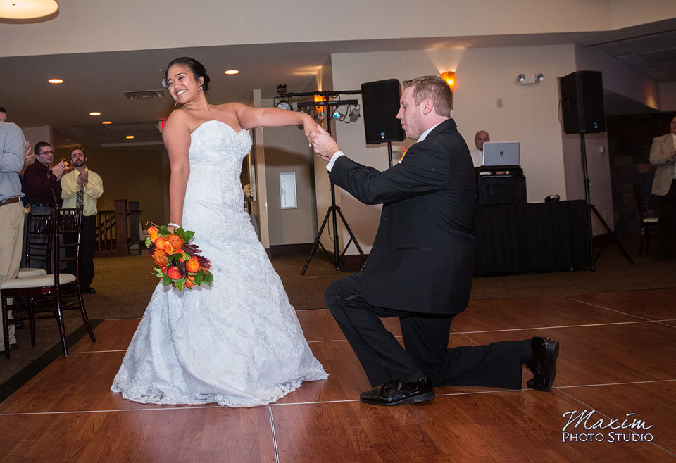 Scioto Reserve Country Club Wedding Reception