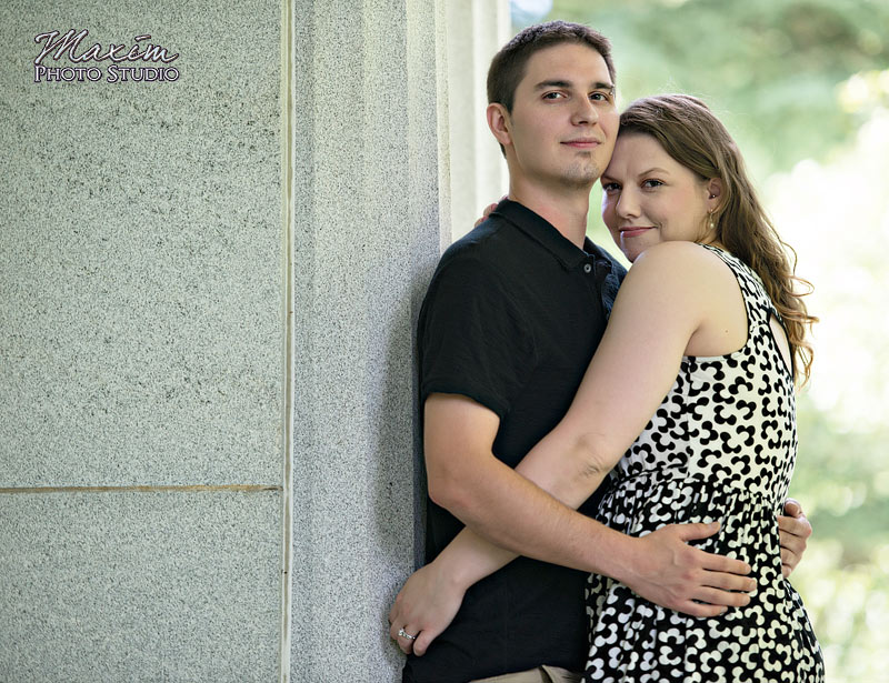 Spring Grove Cincinnati Engagement