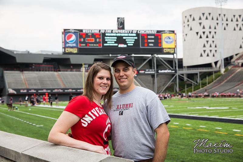 Nippert Stadium Cincinnati Engagement