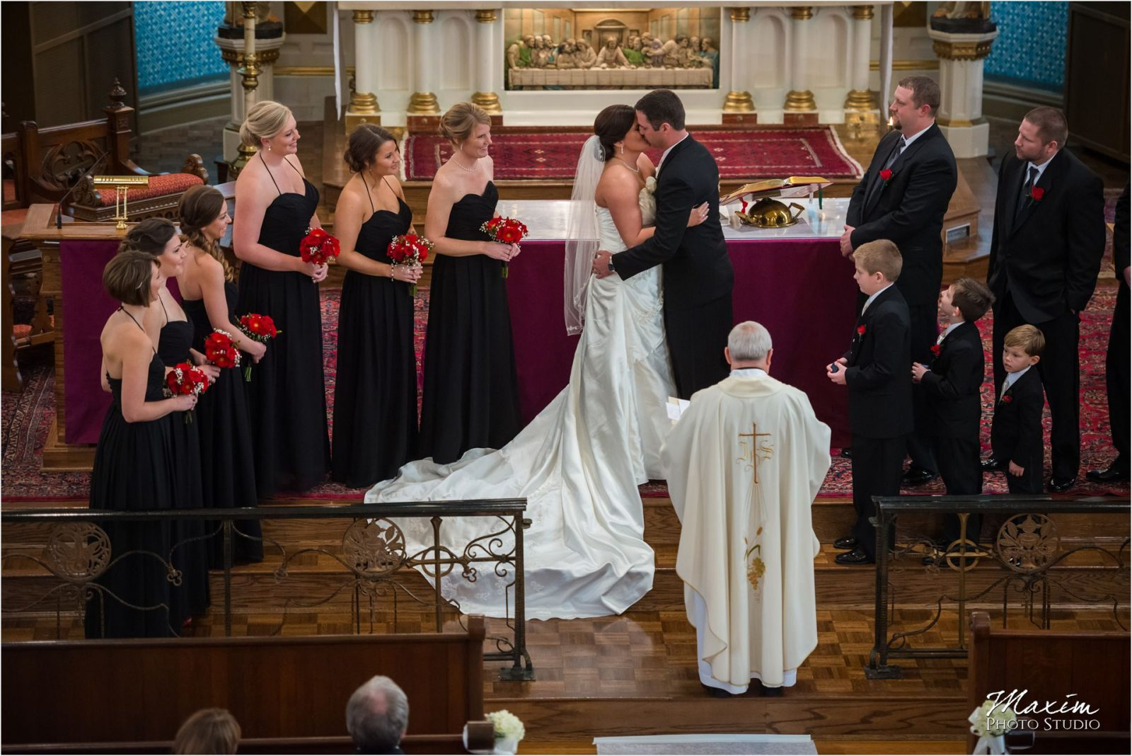 St. Rose Church Cincinnati Wedding Ceremony