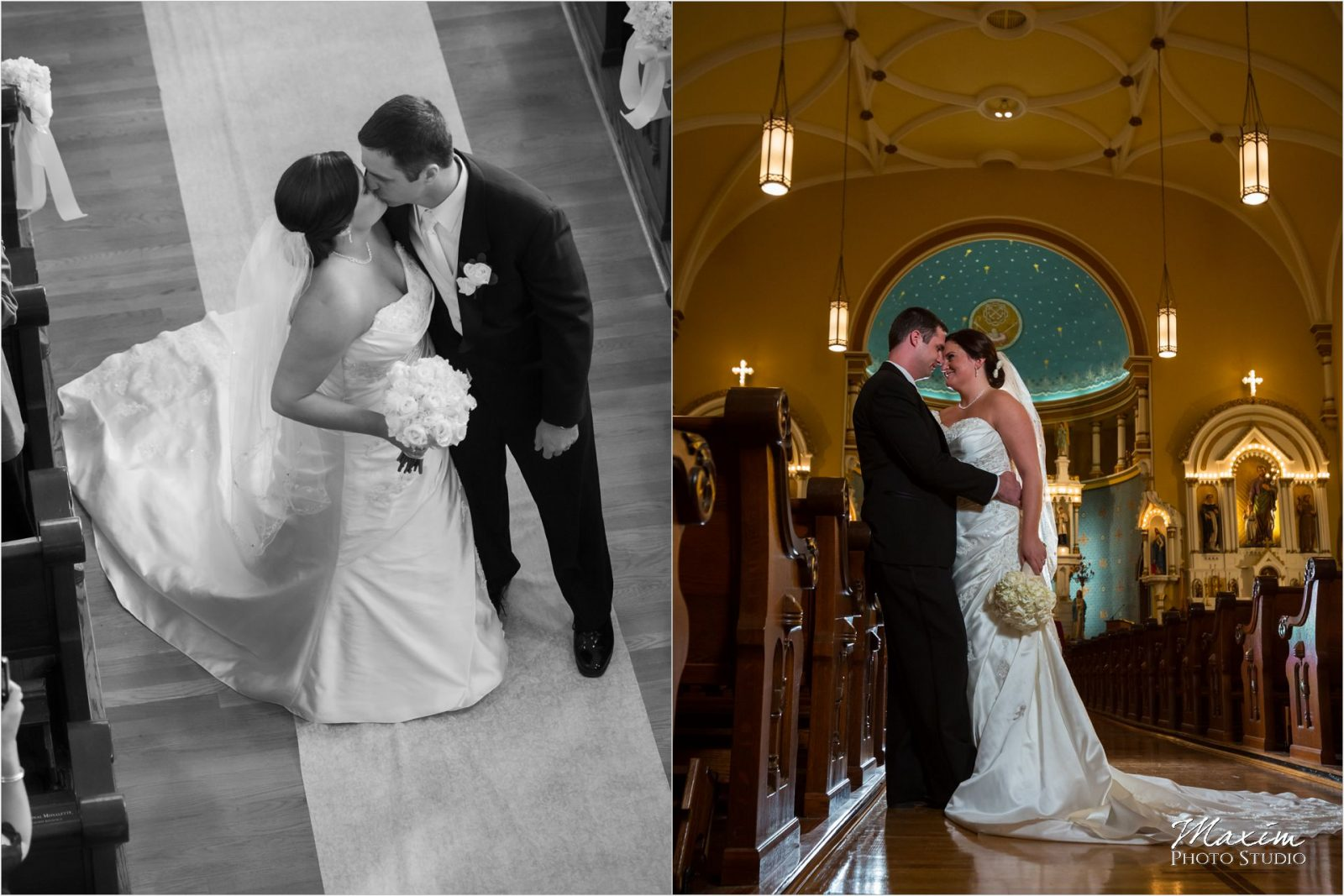 St. Rose Church Cincinnati Wedding Ceremony