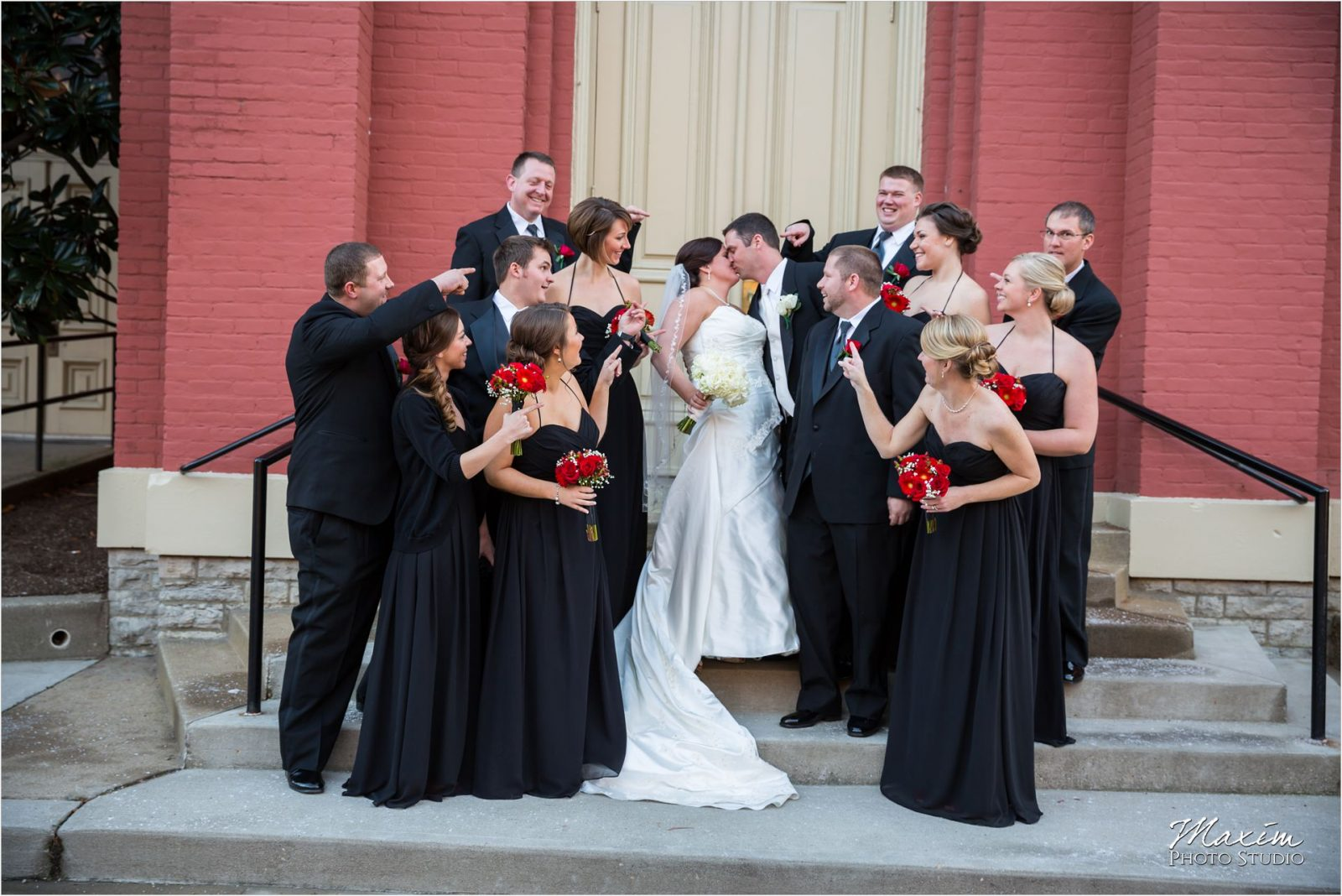 St. Rose Cincinnati Church Bridal Party