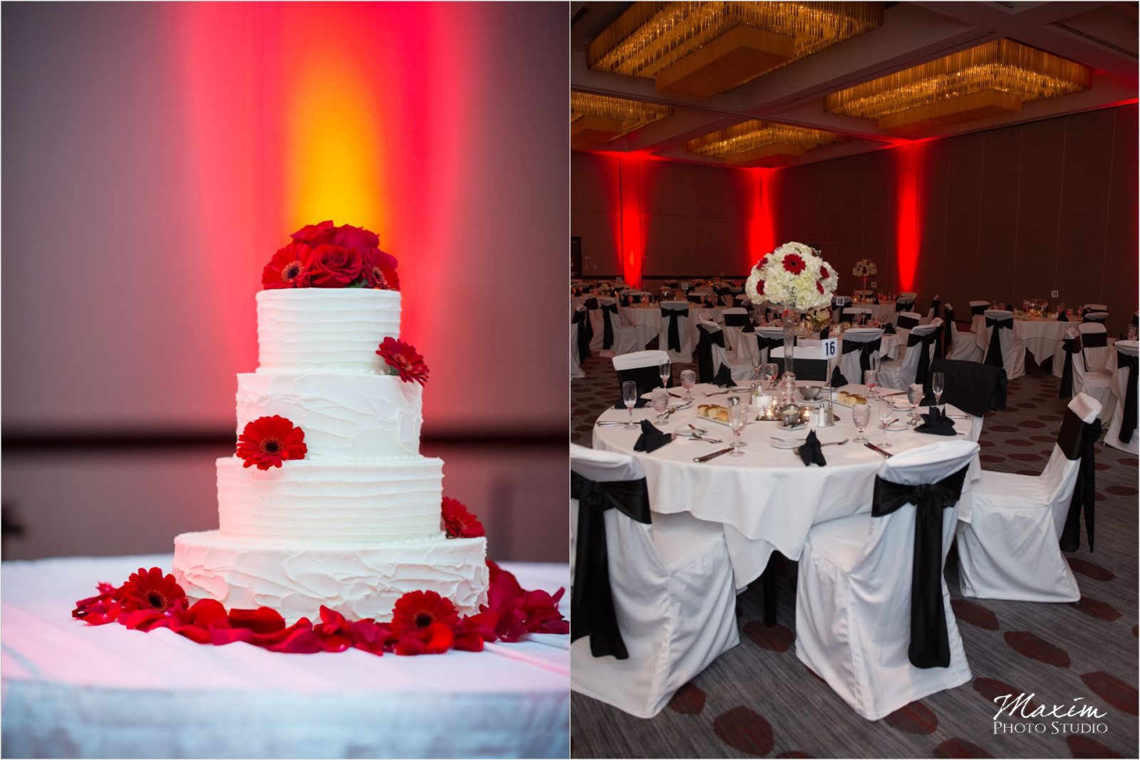 Hyatt Cincinnati Wedding Reception Details