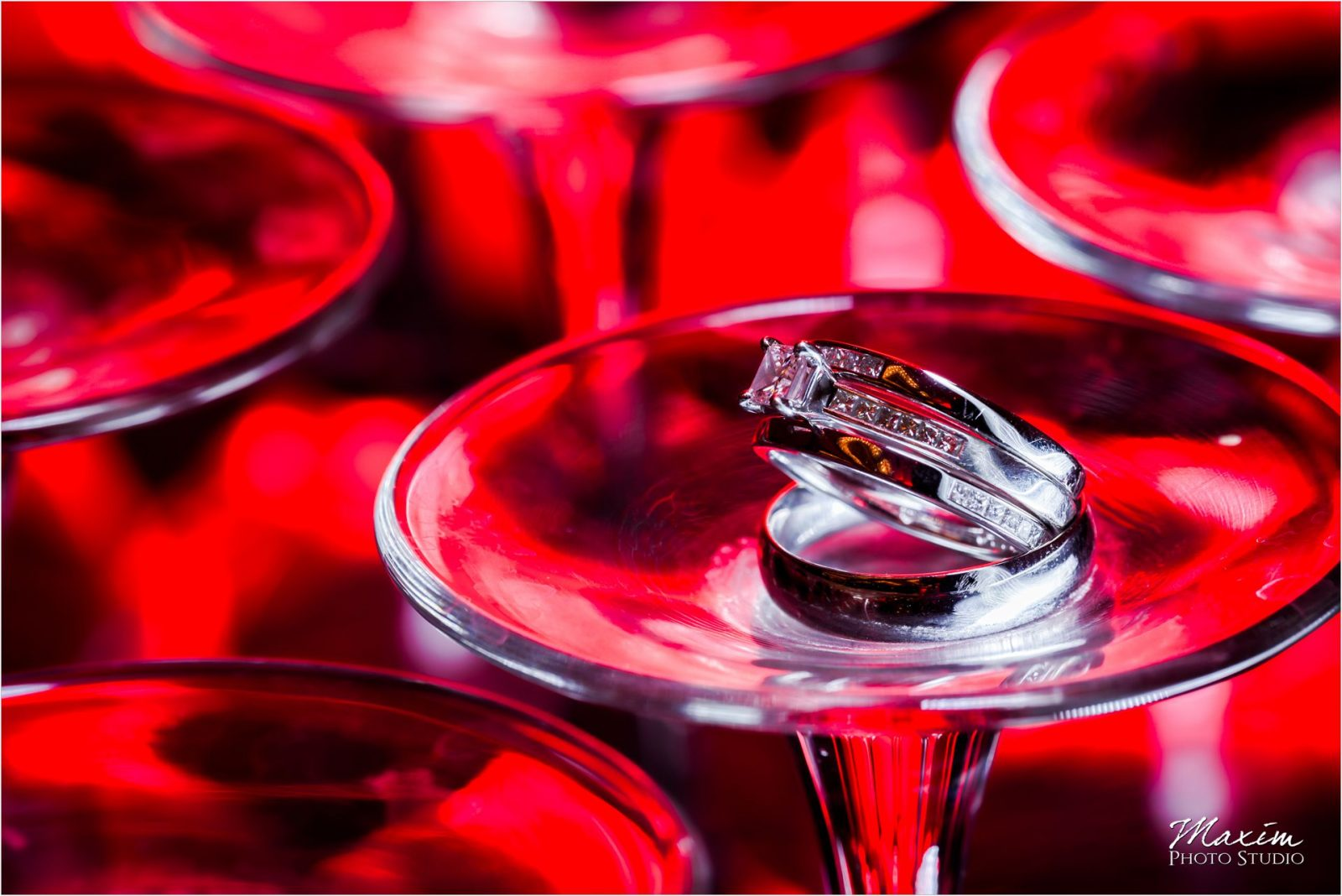 Hyatt Cincinnati Wedding rings