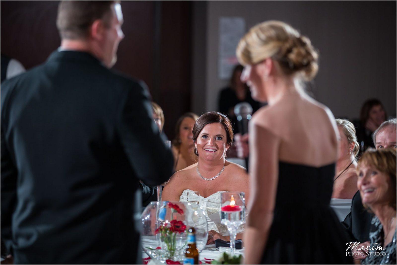 Hyatt Cincinnati Wedding Reception Toasts