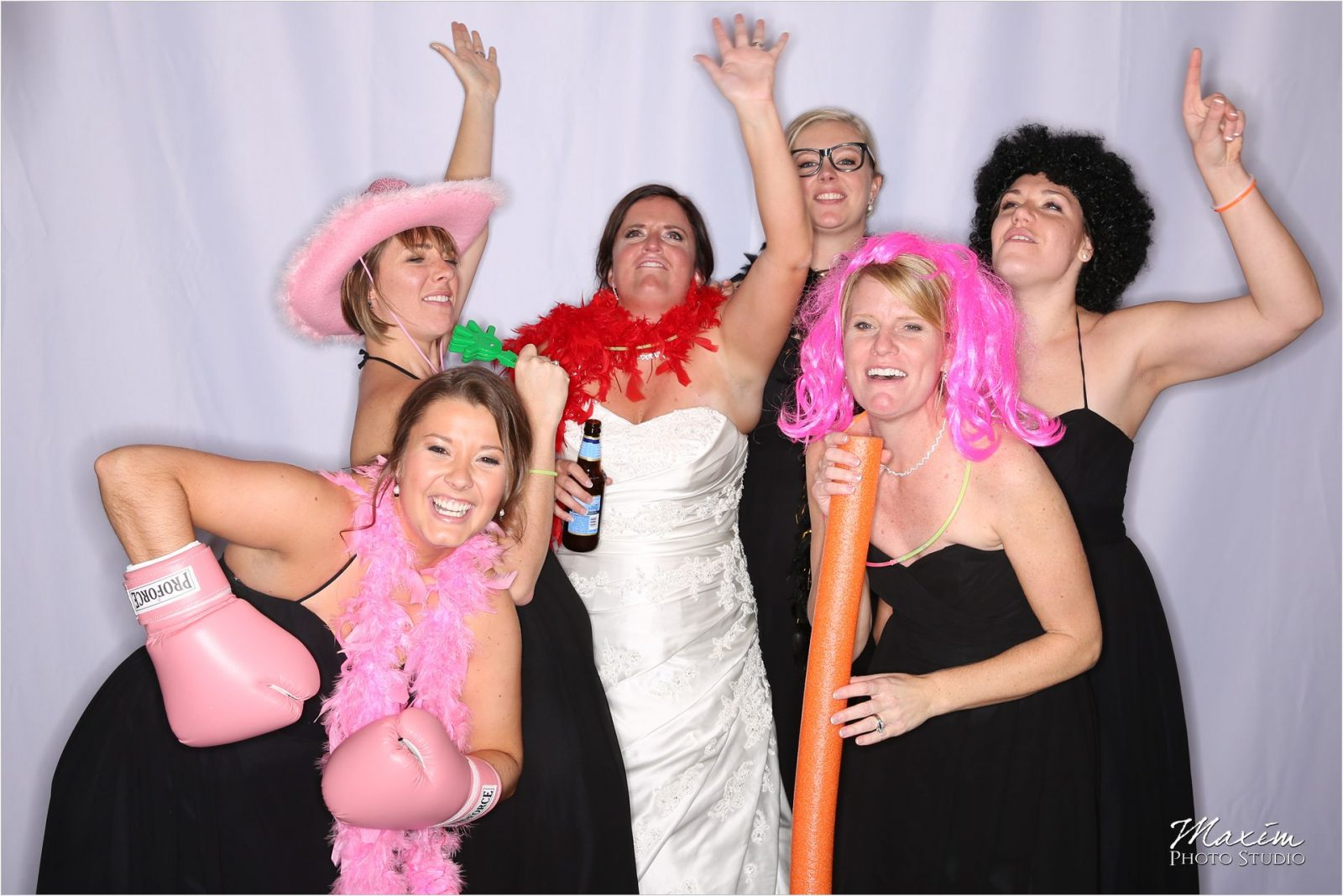Hyatt Cincinnati Wedding Reception Photo Booth