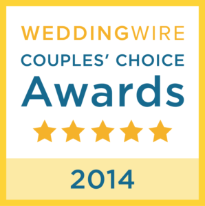 WeddingWire 2014 Couples Choice Award