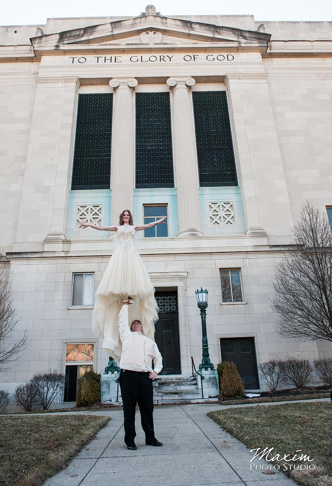Masonic Temple Wedding Photograph ever